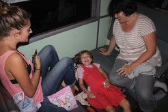 train de nuit  en Thaïlande