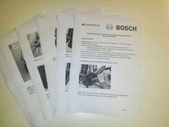 Die Hinweise von Bosch zum e-MTB Motor