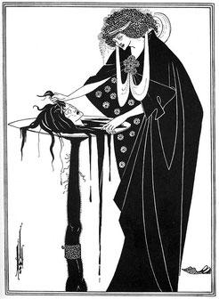 『サロメ』挿絵『踊りの褒美』1893年
