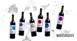 boros palack, palack vörösbor, wassmann logo, ízlandi ló