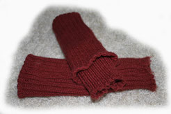 Wollstulpen nicht nur für windelfreie Babys und Kinder gestrickt von ritsch-ratsch