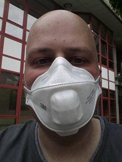 Chemopatient beim Freigang