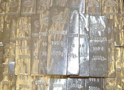 freaky finance, Edelmetalle, Silber, Silberbarren