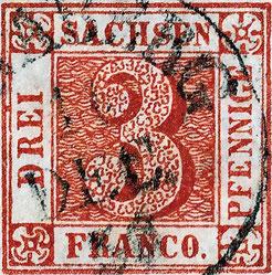 Der Sachsendreier von 1850