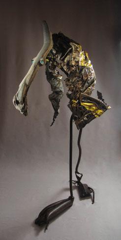Sculptue Bois / Métal