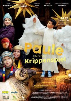 """Plakat """"Paule und das Krippenspiel"""""""