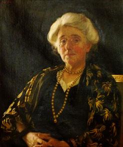 Harold Knight  'Cecily Sidgwick'