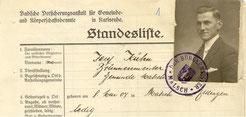 Schlossermeister Josef Kühn wird ab 29.1.1934 neuer Brunnenmeister in Malsch