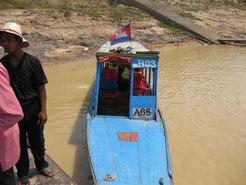 Anlegestelle am Tonle Sap