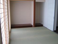 やっぱり日本人は畳が一番ですね!
