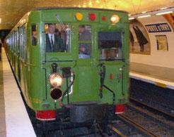 Métro parisien en fonction de 1901 à 1983