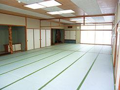 広島YMCA 宿泊 研修 合宿 東郷の間28畳 天上の間21畳