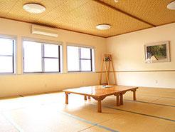 広島YMCA 宿泊 研修 合宿 ヴォーリスロッジ和室 さくら16畳&ゆり20畳