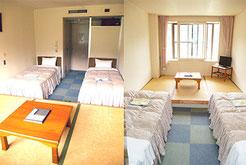 広島YMCA 宿泊 研修 合宿 本館一般宿泊室