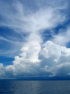 Cumulonimbus, thunderstorm cloud, Gewitterwolke
