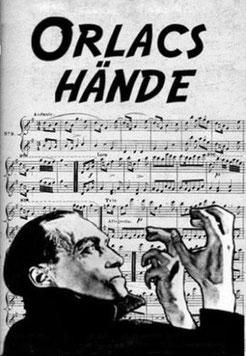 Les Mains d'Orlac de Robert Wiene (1924)