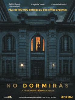 No Dormiras de Gustavo Hernández - 2018 / Epouvante - Horreur