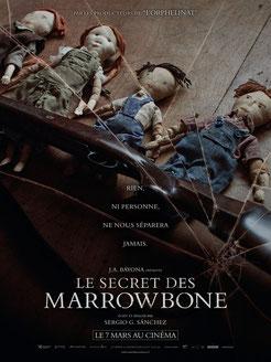 Le Secret Des Marrowbone de Sergio G. Sánchez - 2017 / Epouvante - Horreur