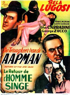 Le Retour de l'Homme Singe (1944)