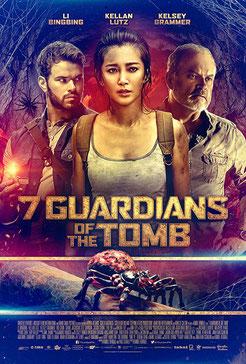 7 Guardians Of The Tomb de Kimble Rendall - 2018 / Horreur