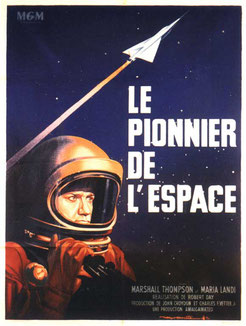 Le Pionnier de l'Espace de Robert Day - 1959 / Science-Fiction
