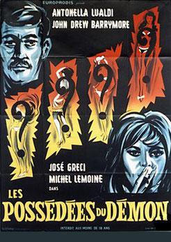 Les Possédés Du Démon de Jean Josipovici & Ambrogio Molteni - 1964 / Horreur