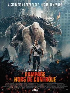 Rampage - Hors De Contrôle de Brad Peyton - 2018 / Science-Fiction