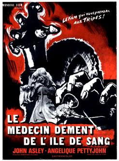 Le Médecin Dément De l'Île De Sang de Gerardo de Leon & Eddie Romero - 1968 / Horreur