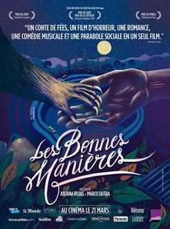 Les Bonnes Manières de  Marco Dutra & Juliana Rojas - 2017 / Fantastique
