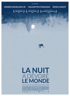 La Nuit A Dévoré Le Monde de Dominique Rocher - 2018 / Horreur