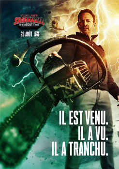 Sharknado 6 - The Last Sharknado : It's About Time de Anthony C. Ferrante - 2018 / Science-Fiction
