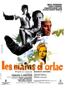Les Mains d'Orlac de Edmond T. Gréville (1960)
