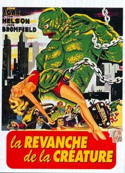 La Revanche De La Créature de Jack Arnold - 1955 / Horreur