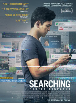 Searching - Portée Disparue de Aneesh Chaganty - 2018 / Thriller