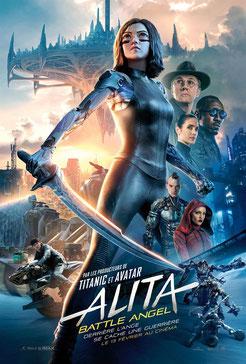 Alita - Battle Angel de Robert Rodriguez - 2019 / Science-Fiction