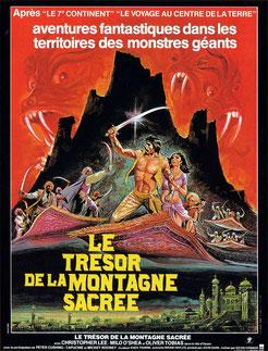 Le Trésor De La Montagne Sacrée de Kevin Connor - 1979 / Fantastique