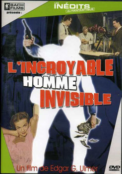 L'Incroyable Homme Invisible de Edgar G. Ulmer - 1960 / Fantastique