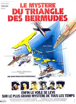 Le Mystère Du Triangle Des Bermudes de René Cardona Jr. - 1978 / Horreur