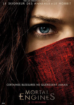 Mortal Engines de Christian Rivers - 2018 / Science-Fiction