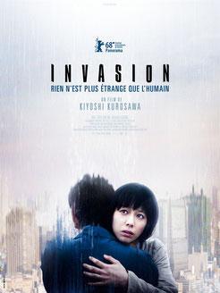Invasion de Kiyoshi Kurosawa - 2018 / Thriller - Fantastique