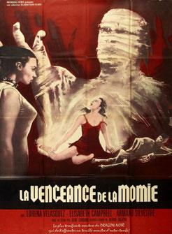 La Vengeance De La Momie de René Cardona - 164 / Horreur - Fantastique