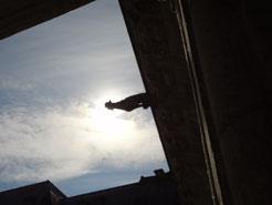 Ciel au dessus du château de Blois. Source Laure Trannoy.