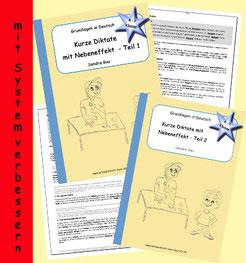 Diktate, Rechtschreibung üben, Rechtschreibübungen, Rechtschreibkurs, Übung zu s-Laute, Übung zur neuen deutschen Rechtschreibung, Übung zu ks x cks gs, Übung zu v w f ph pf, Übung zu doppelten Mitlauten, Übung zu wider wieder, Übung zu i stumme h ie