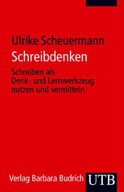 Buchcover von Ulrike Scheuermann, Schreibdenken, UTB Verlag