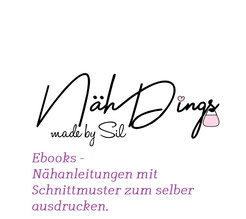 Das Logo von NähDings made by Sil