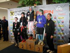 Katrin am 3. Rang komplette Skifahrerin