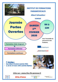 Portes ouvertes IFSI IFAS Gonesse
