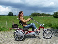Dreirad: Flexible Mobilität