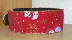 Collier Noel bonhomme rouge