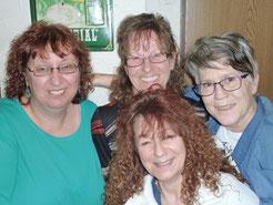 Martina, Käthe, Evi, Brigitte